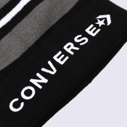 Шапка Converse Striped Cuff Beanie - 113187, фото 3 - интернет-магазин MEGASPORT
