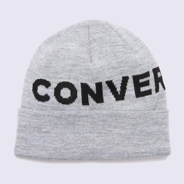 Шапка Converse Jacquard Cuff Beanie - MEGASPORT