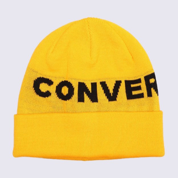 Шапка Converse Jacquard Cuff Beanie - 113191, фото 1 - інтернет-магазин MEGASPORT