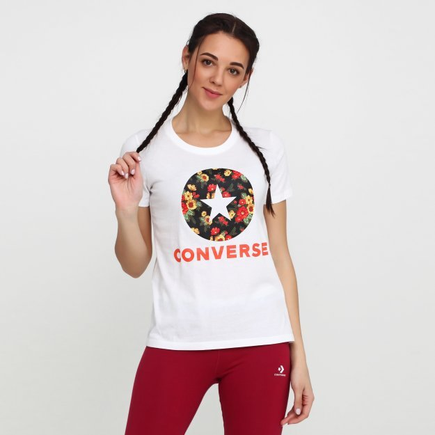 Футболка Converse In Bloom Floral Tee - MEGASPORT