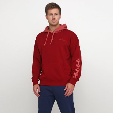 Кофты converse Converse Repeated Star Chevron Po Hoodie - 120348, фото 1 - интернет-магазин MEGASPORT
