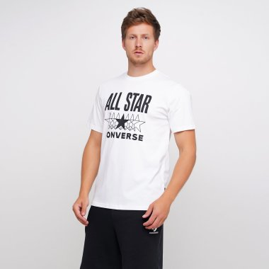 Футболки converse All Star Ss Tee - 123560, фото 1 - интернет-магазин MEGASPORT