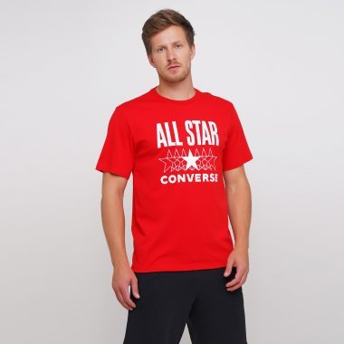 Футболки converse All Star Ss Tee - 123561, фото 1 - интернет-магазин MEGASPORT