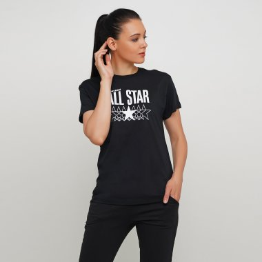 Футболки converse All Star Relaxed Tee - 123565, фото 1 - интернет-магазин MEGASPORT