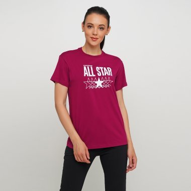 Футболки converse All Star Relaxed Tee - 123566, фото 1 - интернет-магазин MEGASPORT