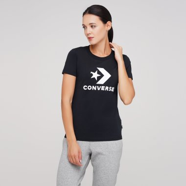 Футболки converse Star Chevron Tee - 126299, фото 1 - интернет-магазин MEGASPORT