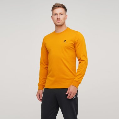 Футболки converse Foundation Ls Tee - 126319, фото 1 - интернет-магазин MEGASPORT