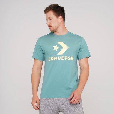 Футболки converse Star Chevron Tee - 134809, фото 1 - интернет-магазин MEGASPORT