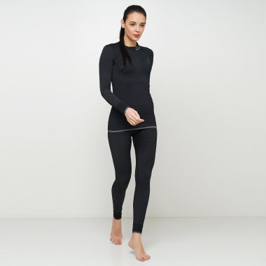 Термобелье craft Warm Intensity Underpant W Black/Granit (Леггинсы) - 121338, фото 1 - интернет-магазин MEGASPORT