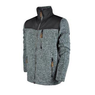 Кофта East Peak mens knitted fulzip w/shoulders - фото 1