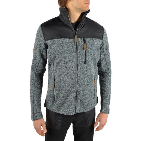 Кофта East Peak mens knitted fulzip w/shoulders - фото