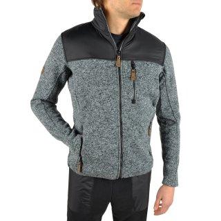 Кофта East Peak mens knitted fulzip w/shoulders - фото 5
