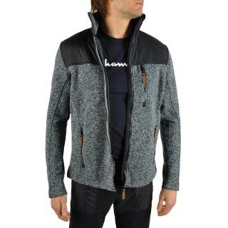 Кофта East Peak mens knitted fulzip w/shoulders - фото 8
