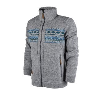 Кофта East Peak mens knitted fulzip w/print - фото 1