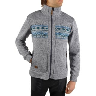 Кофта East Peak mens knitted fulzip w/print - фото 5