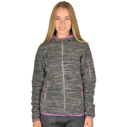 Кофта East Peak Women Hooded Fulzip Fleece - фото