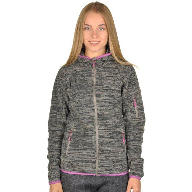 Кофта East Peak Women Hooded Fulzip Fleece - MEGASPORT