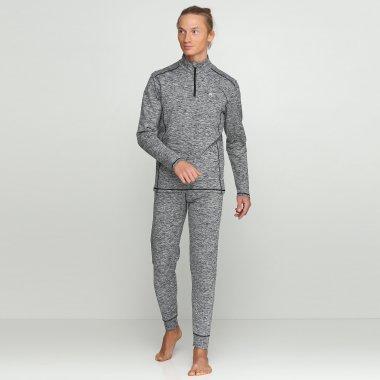 men's thermo set with halfzip jacket