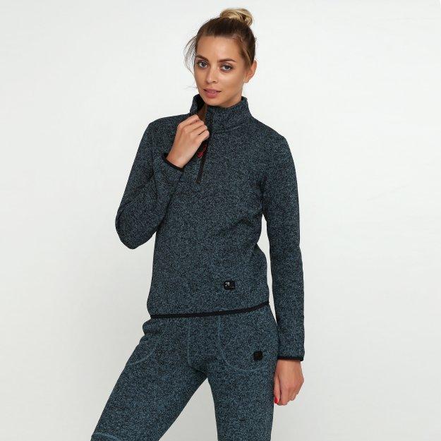 Кофта East Peak women's knitted halfzip jaket - MEGASPORT