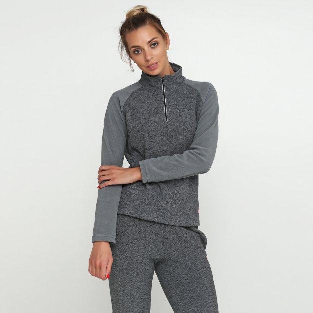 Кофта East Peak women's light halfzip jacket - 113287, фото 1 - интернет-магазин MEGASPORT