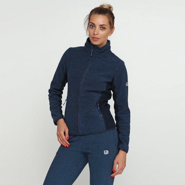 Кофта East Peak women's thick fleece fulzip  jacket - MEGASPORT