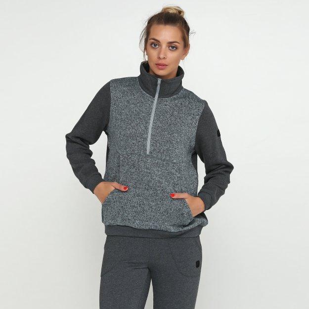 Кофта East Peak women's halfzip with kangoo pocket - MEGASPORT