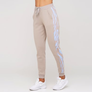 Women's Cuff Pants With Print Details