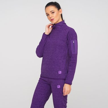 Кофти eastpeak Women's Fleece Halfzip Jacket - 127051, фото 1 - інтернет-магазин MEGASPORT