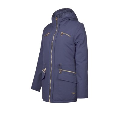 Hooded 3/4 Duck Down Jacket
