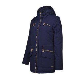 Куртка-пуховик Champion Hooded 3/4 Duck Down Jacket - фото 1