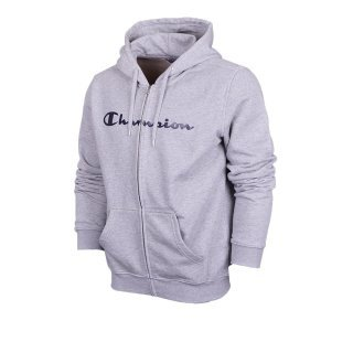 Кофта Champion Hooded Full Zip Sweatshirt - фото 1