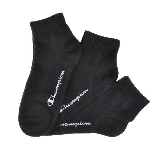 Шкарпетки Champion 3pk Quarter Socks - фото