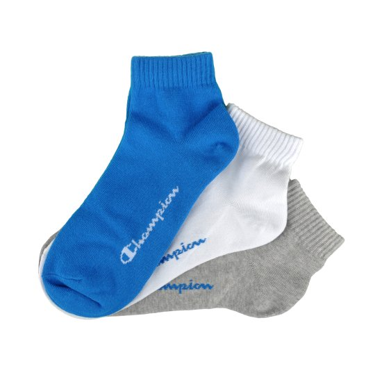 Шкарпетки Champion 3pk Quarter Socks - фото