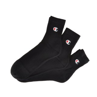 Шкарпетки Champion 3pk Short Crew Socks - фото 1