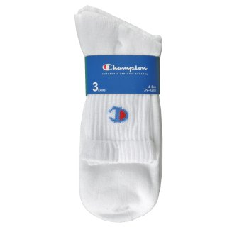 Шкарпетки Champion 3pk Short Crew Socks - фото 3