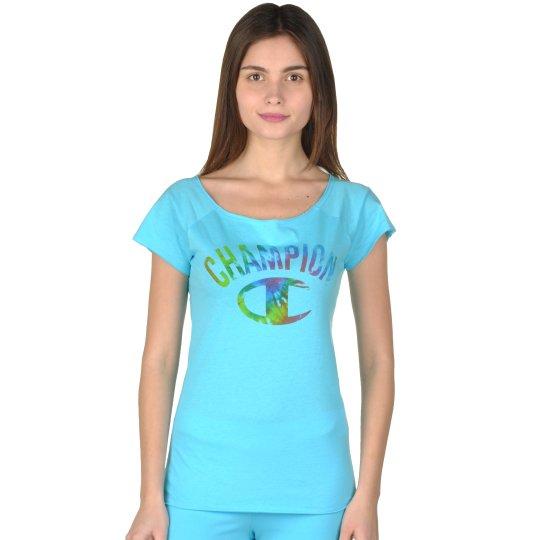 Футболка Champion Boat Neck T'shirt - фото