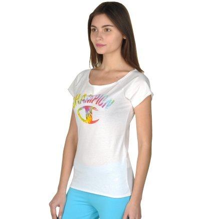 Футболка Champion Boat Neck T'shirt - 92693, фото 2 - інтернет-магазин MEGASPORT