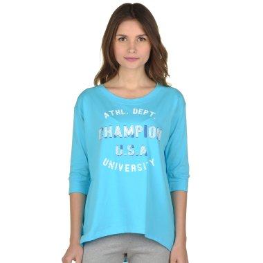 Футболки champion 3/4 Sleeves T'shirt - 92859, фото 1 - интернет-магазин MEGASPORT