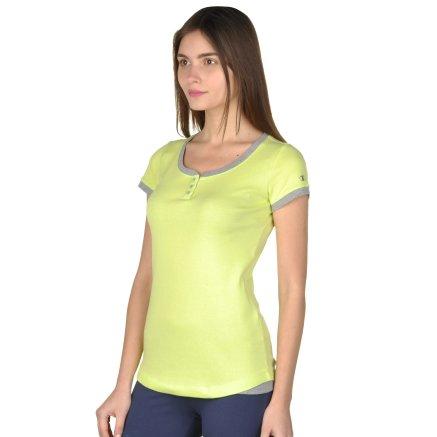 Футболка Champion Crewneck T'shirt - 92696, фото 2 - интернет-магазин MEGASPORT