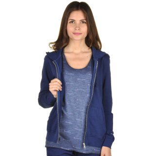 Кофта Champion Hooded Full Zip Sweatshirt - фото 5