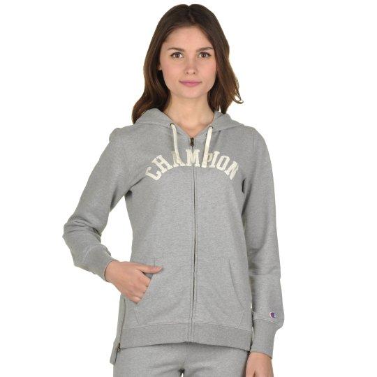 Кофта Champion Hooded Full Zip Sweatshirt - фото
