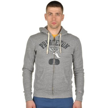 Кофты champion Hooded Full Zip Sweatshirt - 92891, фото 1 - интернет-магазин MEGASPORT