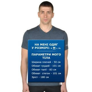 Футболка Champion V-Neck T'shirt - фото 6