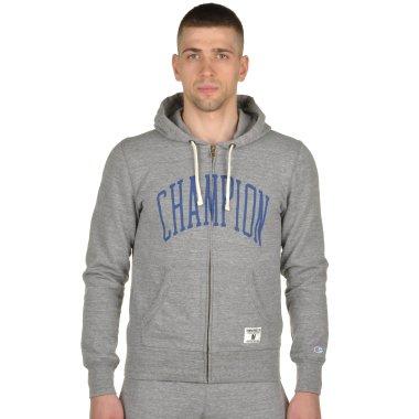 Кофти champion Hooded Full Zip Sweatshirt - 92928, фото 1 - інтернет-магазин MEGASPORT