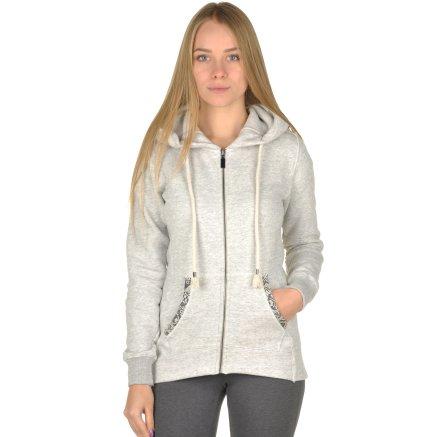 Кофта Champion Hooded Full Zip Sweatshirt - 95319, фото 1 - интернет-магазин MEGASPORT