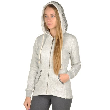 Кофта Champion Hooded Full Zip Sweatshirt - 95319, фото 4 - интернет-магазин MEGASPORT