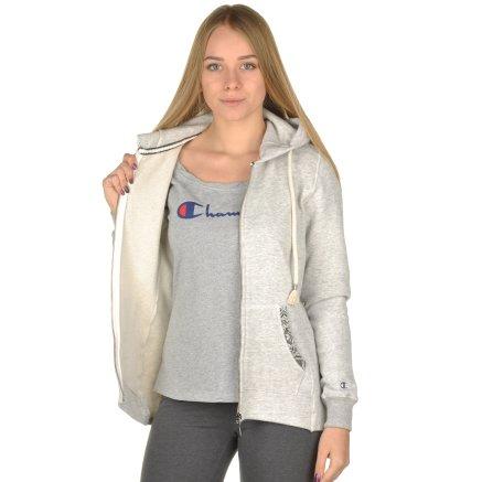 Кофта Champion Hooded Full Zip Sweatshirt - 95319, фото 6 - интернет-магазин MEGASPORT