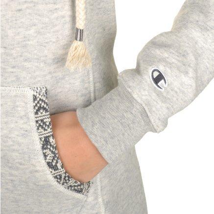 Кофта Champion Hooded Full Zip Sweatshirt - 95319, фото 7 - интернет-магазин MEGASPORT