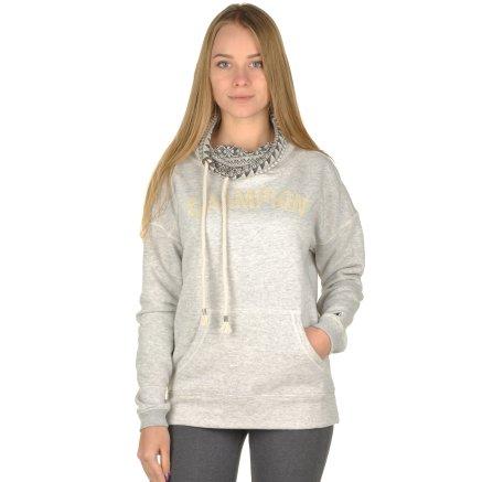 Кофта Champion High Neck Sweatshirt - 95320, фото 1 - интернет-магазин MEGASPORT