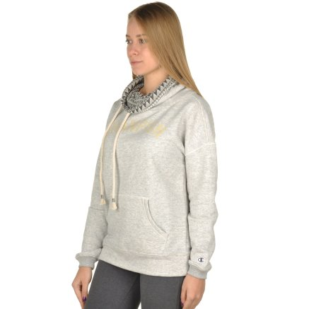 Кофта Champion High Neck Sweatshirt - 95320, фото 2 - интернет-магазин MEGASPORT